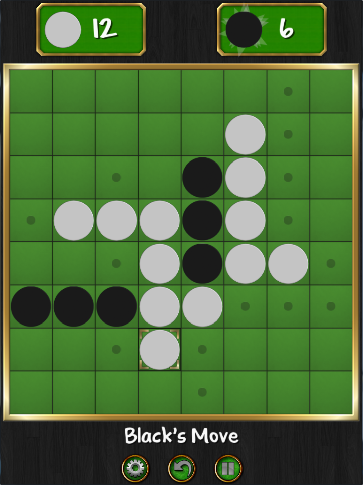 [Reversi Screenshot]